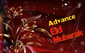 Advance Eid Mubarak images 2016