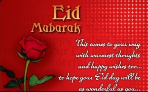 Eid Mubarak Picture Message
