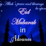 Top 10 Advance Eid Mubarak Wishes with Eid Mubarak Images