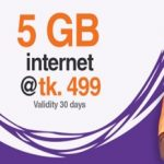 Banglalink 5GB Internet 499 TK Offer