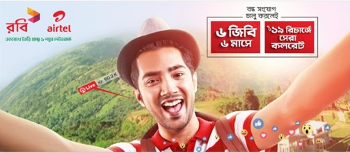 Robi Bondho SIM Offer 2017