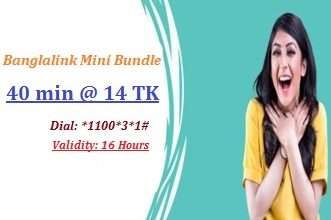 Banglalink 40 Minutes 14 TK Offer 2017