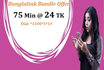 Banglalink 75 Minutes 24 TK Offer