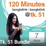 Banglalink 120 Minutes 51 TK Offer 2017