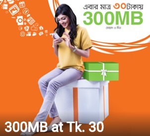 Banglalink 300 MB Internet 30 TK Offer 2017