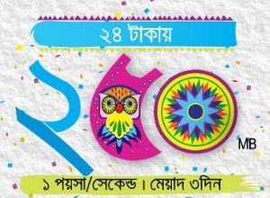 GP Pohela Boishakh Offer 2017! 250 MB @ 24 TK