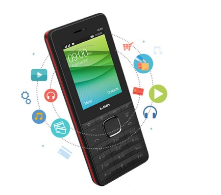 Lava Connect M1 4G Smart FeaturePhone
