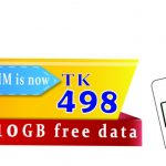 OLLO LTE uSIM Price 498 TK with 10 GB Free Data Offer