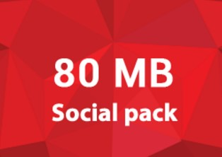 Robi 80 MB Social Internet Pack 5 TK Offer