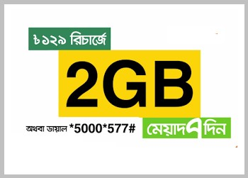 Banglalink 2GB Internet 129 TK Offer 2017