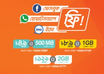Banglalink Social Pack 100 MB Free Offer