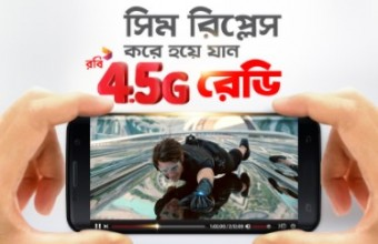 Robi 4.5G Active Code, Status Check & How to collect Robi 4G Enabled SIM