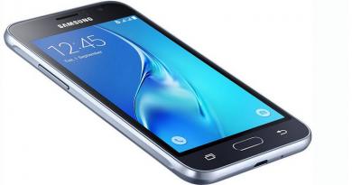 Samsung Galaxy J1-2016