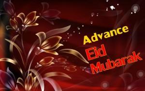 Advance Eid Mubarak images 2016