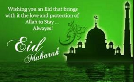 Eid Mubarak Picture SMS
