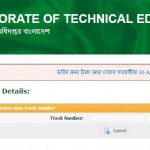 Polytechnic Diploma Admission Result 2016-17 check Online www.techedu.gov.bd.