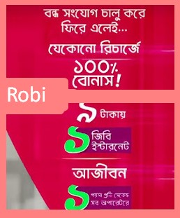 Robi Bondho SIM Offer Last Update