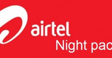 Airtel Night Pack