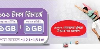 Airtel 2GB Internet 151TK