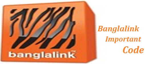 Banglalink Important Code Update
