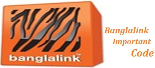 Banglalink Important Code Update