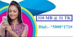 GP 310 MB Internet 31 TK