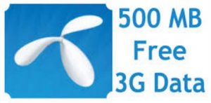 GP 500 MB Free Internet Data Offer