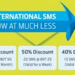 GP International SMS Package
