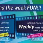 GP Video Pack 40 MB 6 TK & 150 MB 18 TK Offer