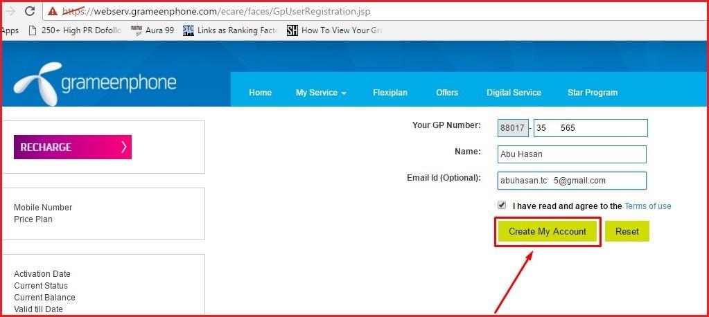 How to Check GP SIM Call History