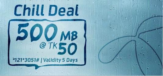 GP 500 MB 50 TK Offer