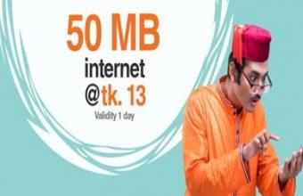 Banglalink 50 MB Internet 13 TK Offer