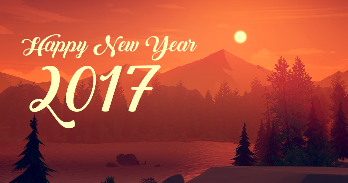 happy new year 2017 Facebook Cover Photo