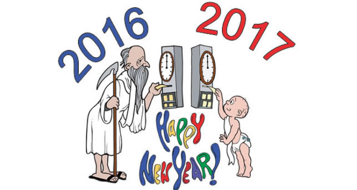 happy new year 2017 Funny picture images SMS