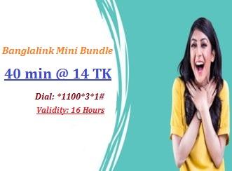Banglalink 40 Minutes 14 TK Offer 2017