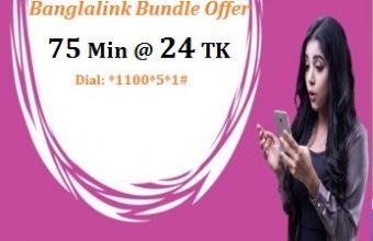 Banglalink 75 Minutes 24 TK Offer