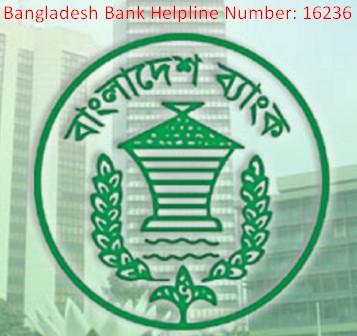 Bangladesh Bank Helpline Number & Head Office Address