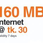 Banglalink 160 MB Internet 30 TK Offer 2017