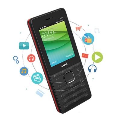 Lava Connect M1 4G Smart FeaturePhone