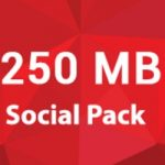 Robi Social Pack 250 MB 10 TK with 28 Days Validity
