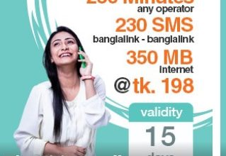 Banglalink 198 TK Bundle Offer
