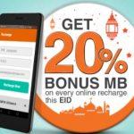 Banglalink EID Online Recharge Bonus Internet Offer