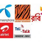 All Service Off GP, Robi, Banglalink, Airtel, Teletalk