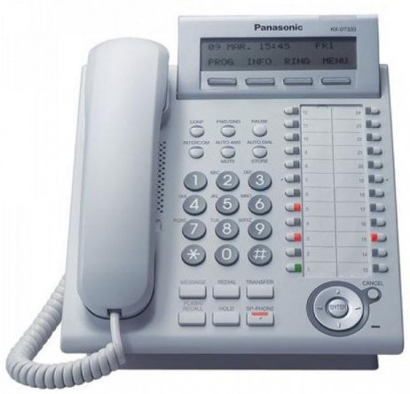 Panasonic Digital Telephone Duplex Speaker 3-Line KX-DT333