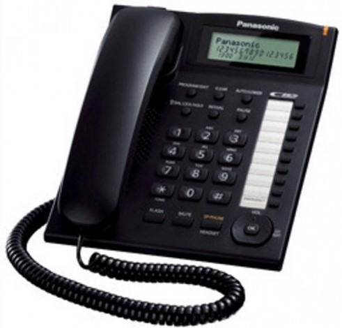 Panasonic KX-TS880MX Caller ID LCD Display Telephone