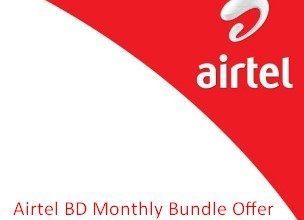 Airtel BD Monthly Bundle Offer (On-net & Off-net)