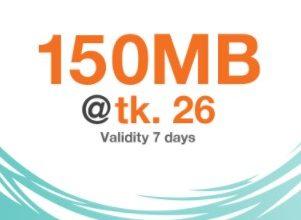 Banglalink 150 MB 26 TK Offer