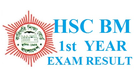 HSC BM 1st Year Exam Result