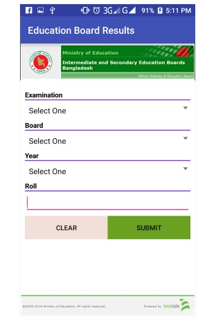 How to Check JSC Exam Result 2017 by Android App - BD Results (Official Apps)
