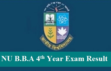 NU BBA 4th Year Exam Result